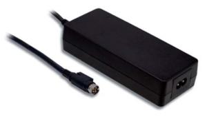 GSM160B20-R7B Medical IEC 320-C8 Inlet Desktop 160 Watts: 20V @ 8A AC//DC Adapter